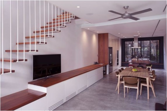30 Living Room With Staircase Models For Your Home