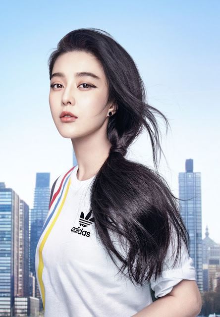 Actress, Singer @ Fan Bingbing - Josh Olins Campaign for Adidas Originals ZX FLUX ADV Summer 2016