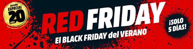 Top 20 ofertas Red Friday de Media Markt
