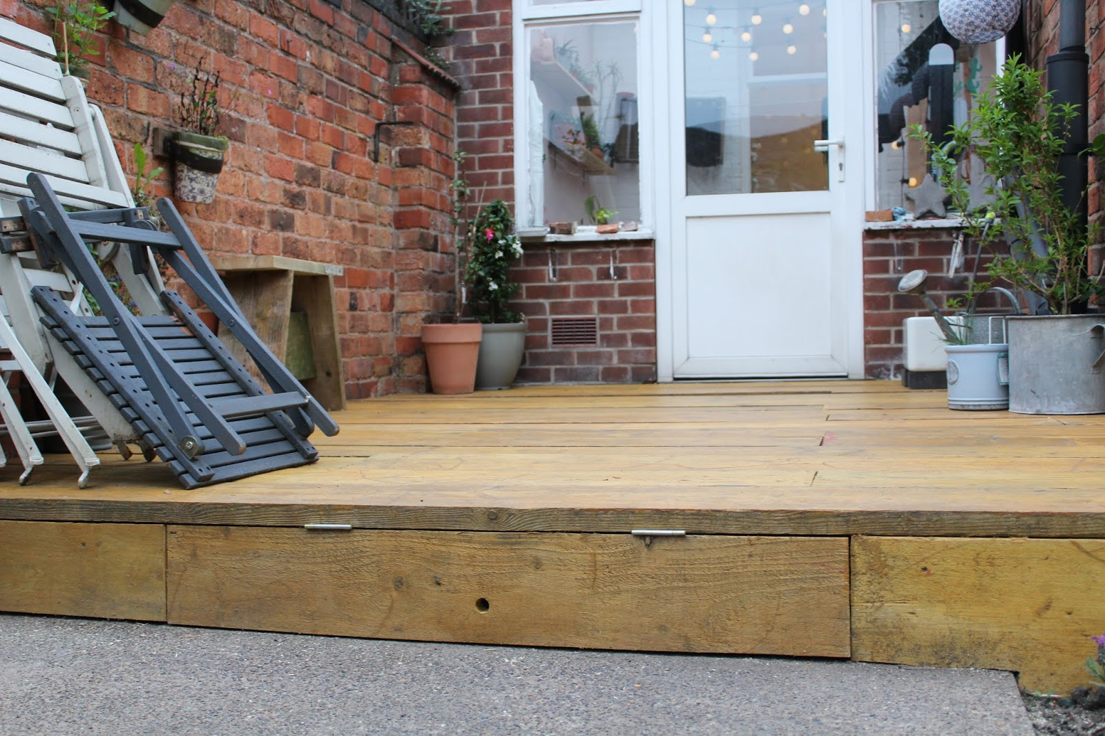 Creating a Hinged Door in Decking