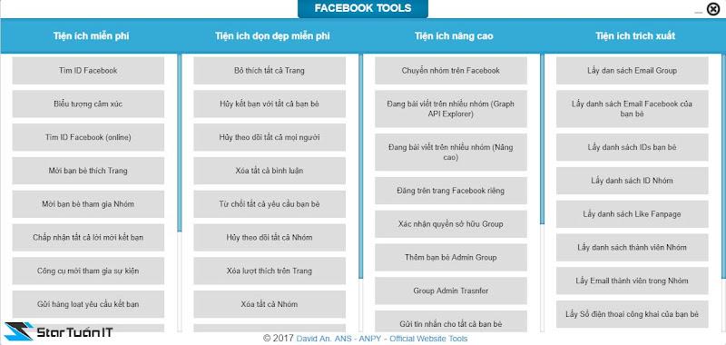 Facebook tools 3