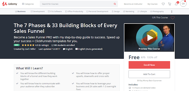 The 7 Phases & 33 Building Blocks of Every Sales Funnel