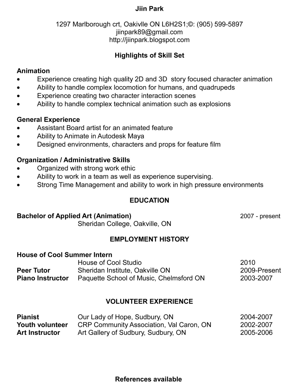 University of Michigan Official Publication my resume online free ...