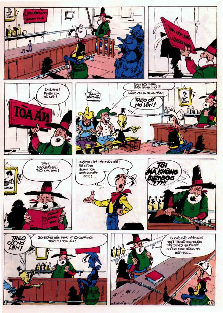 Lucky Luke tập 21 - sợi dây biết hát trang 11
