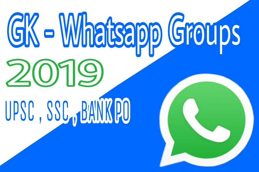 GK Whatsapp Group links 2019 | Current Affair Whatsapp group links