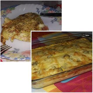 tortilha no forno