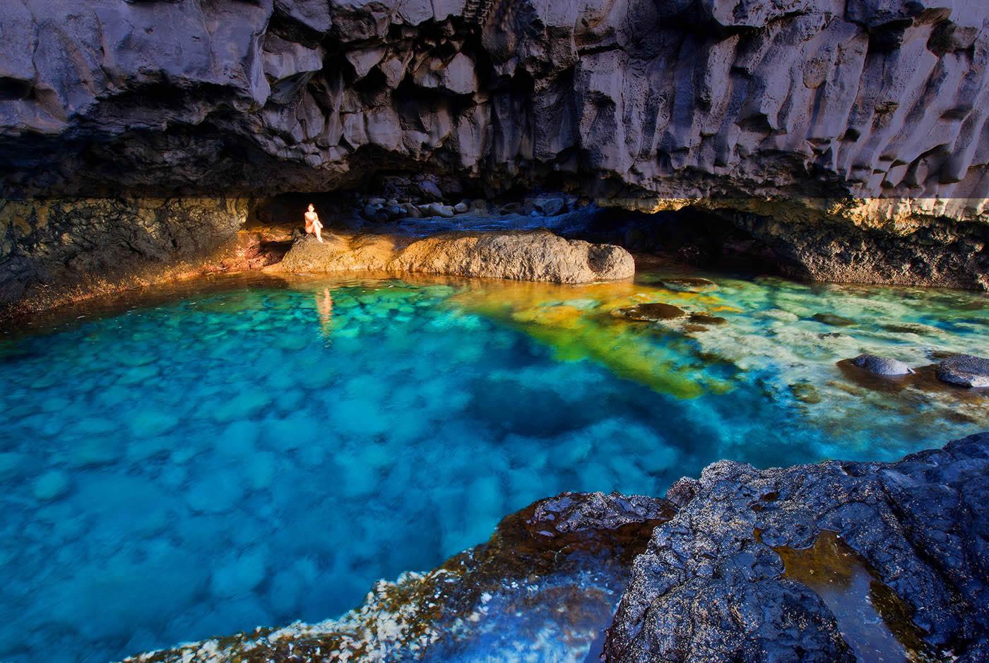 Playas Secretas Españolas, El Charco Azul 1