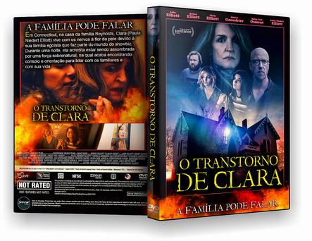 CAPA DVD – O Transtorno de Clara – ISO