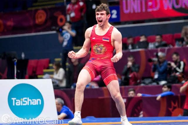 Arsen Harutyunyan gana el título europeo de lucha libre