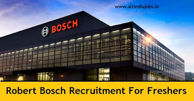 Robert Bosch Recruitment