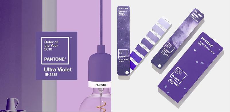 Originale e creativo, Ultra Violet è un colore che ci indirizza verso il futuro