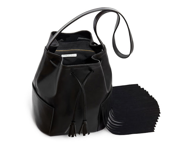 Bucket bag by Nikki Reed and Freedom of Animals. Photo courtesy of Freedom of Animals via Ecouterre.