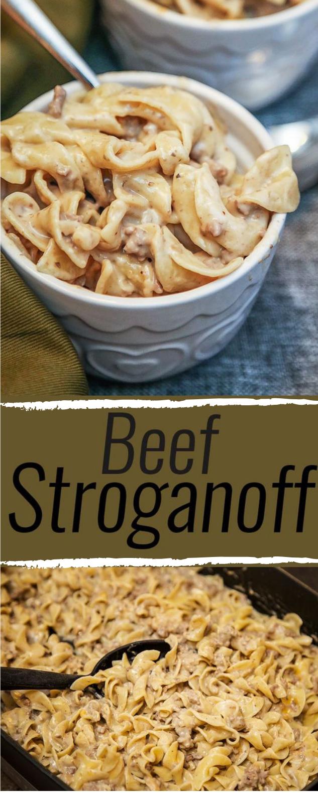 Beef Stroganoff #healthyrecioe #eating