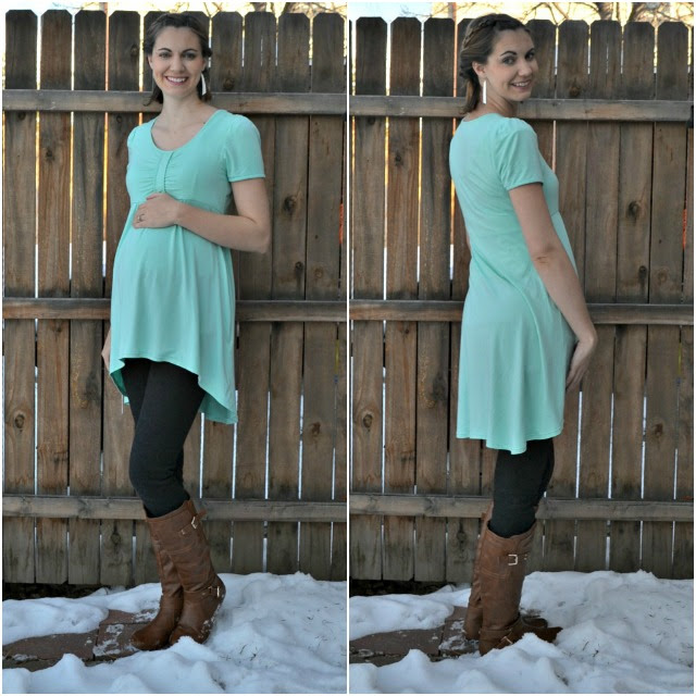 Me Made: Easiest Maternity Tunic
