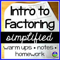 Simplified Factoring