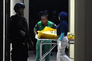 6 jenazah teroris
