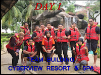 PENGALAMAN BEST TEAM BUILDING DI CYBERVIEW RESORT & SPA