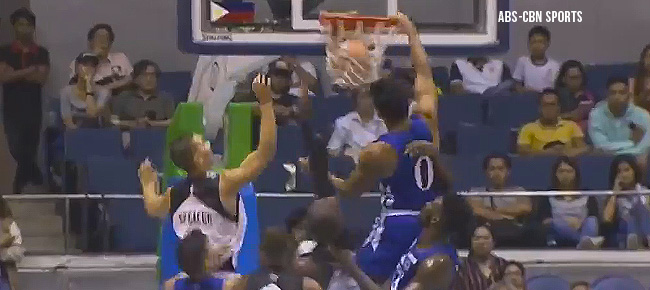 Thirdy Ravena with the MONSTER Putback Slam against UP (VIDEO)