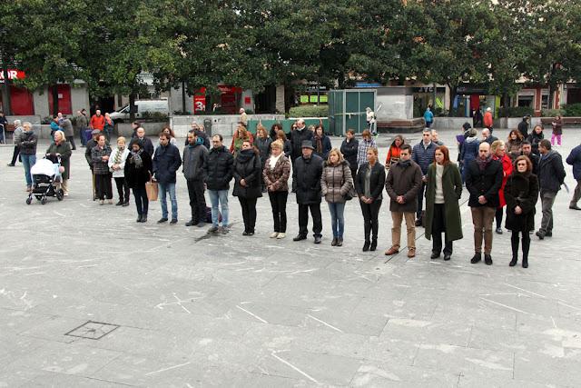 Concentración en Herriko Plaza