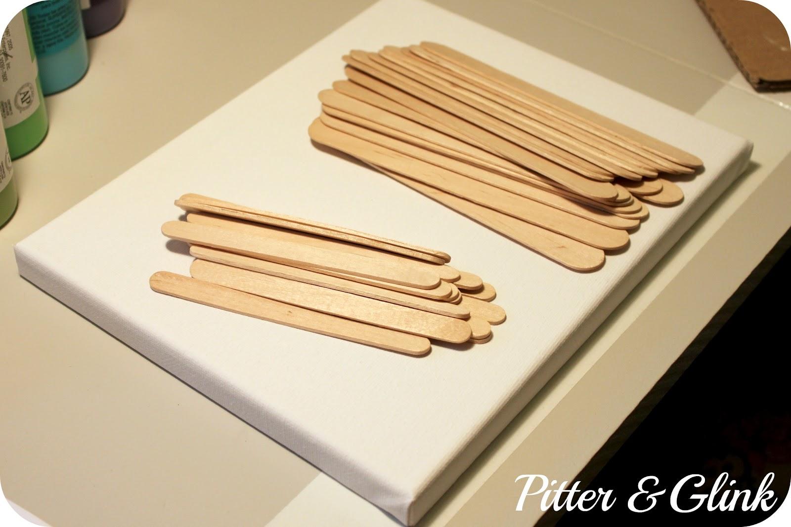 PitterAndGlink: {Upscale Summer Popsicle Stick Art}