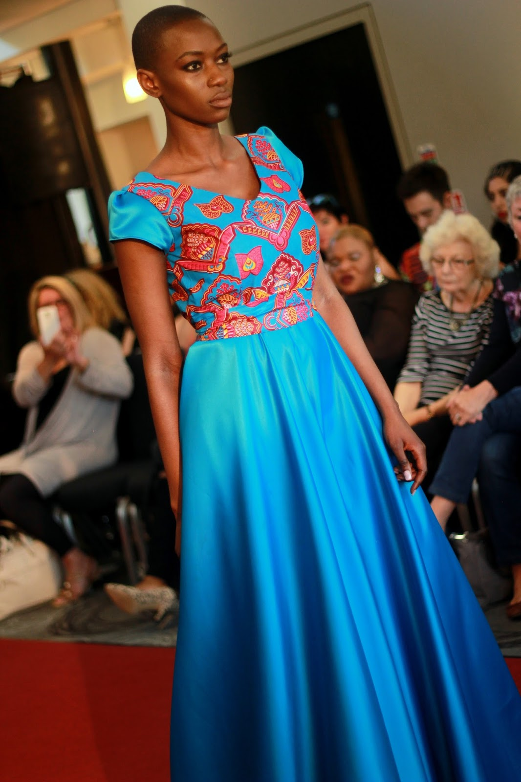 Ndey Manneh in Yvonne Yvette by Karina So. for Ses Rêveries at Manchester Fashion Week 2016