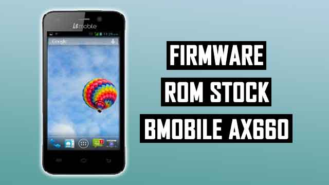 rom stock Bmobile AX660