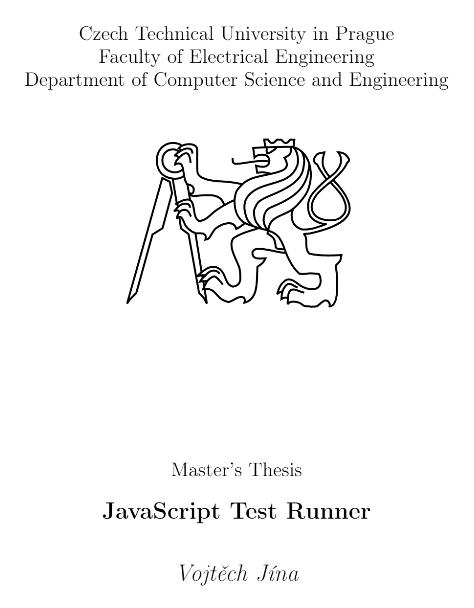 master thesis javascript