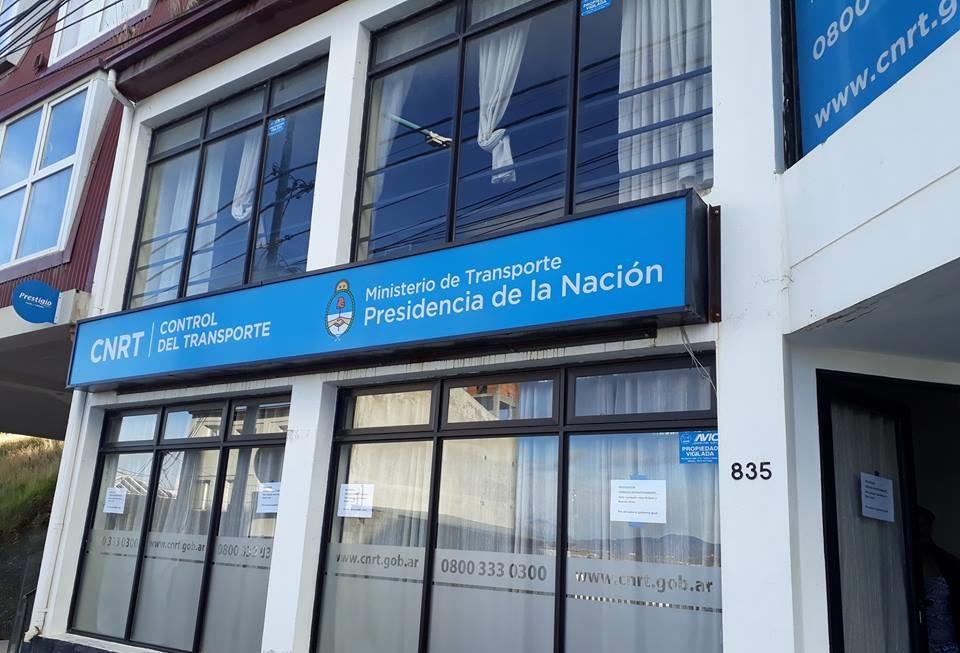 Cerraron delegacion CNRT en Ushuaia