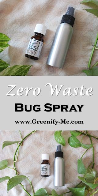 zero waste bug spray