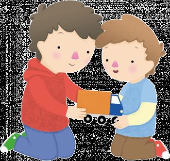 Resultado de imagen de compartir juguetes niños