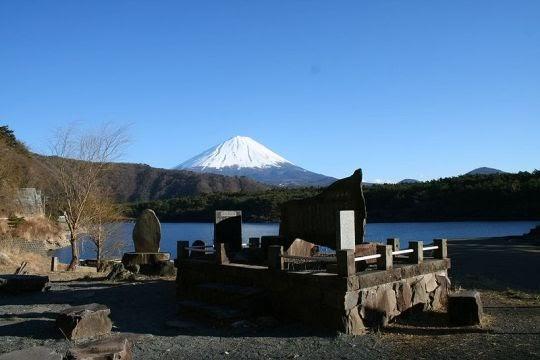 Danau Sai dan Gunung Fuji