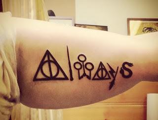 ลายสักแฮรี่พอตเตอร์