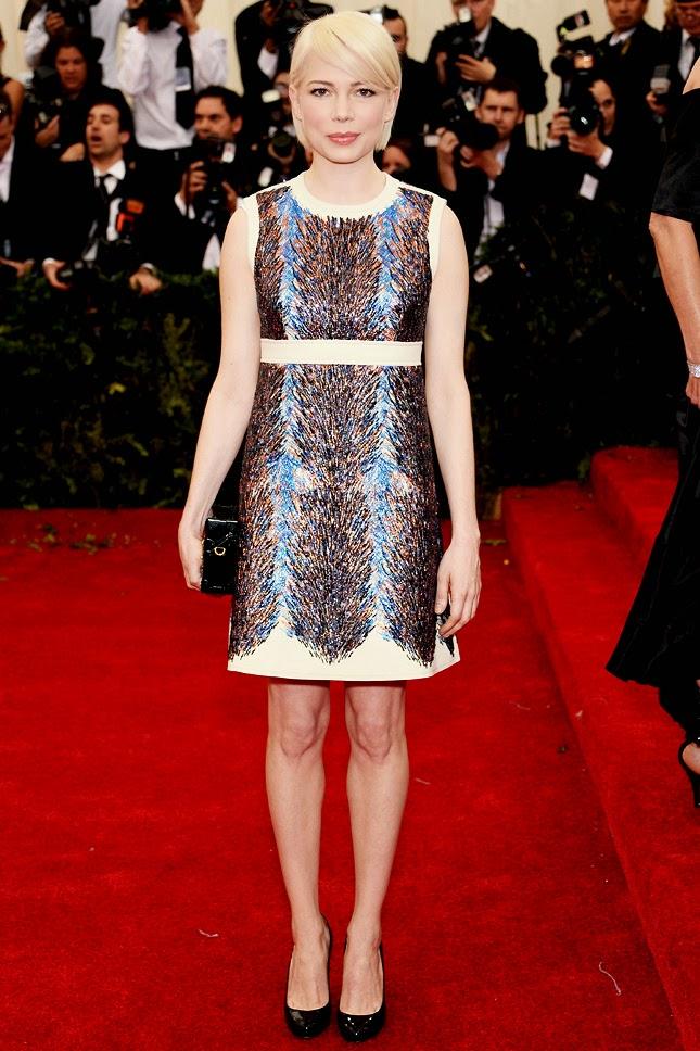 Michele Williams in Louis Vuitton