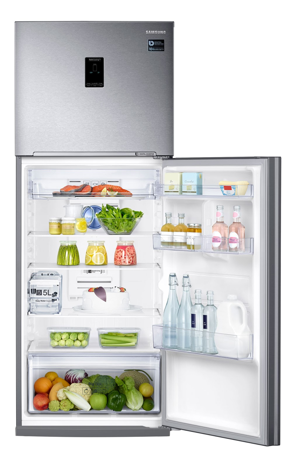 New Samsung Refrigerator Come With Twin Cooling Plus And