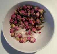 sel et fleurs de bain