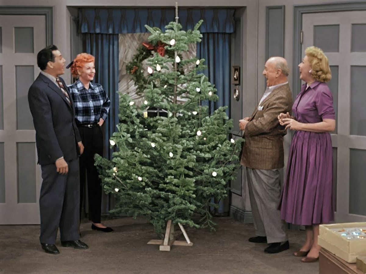 Danielles Heartfelt Home I Love Lucy Christmas Episodein Color