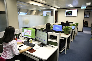coworker office