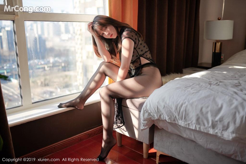 Image XIUREN-No.1363-Wang-Yu-Chun-MrCong.com-004 in post XIUREN No.1363: Wang Yu Chun (王雨纯) (42 ảnh)