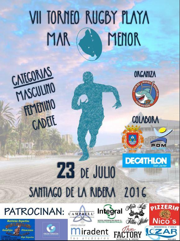 Actualidad Deportes San Javier Vii Torneo Rugby Playa
