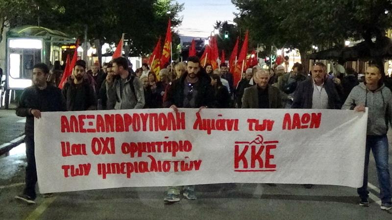 ΚΚΕ Έβρου: Ανάπτυξη με ματωμένα δολάρια του ΝΑΤΟ θέλει ο Δήμαρχος Αλεξανδρούπολης