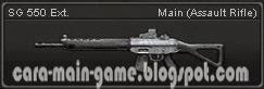 Senjata Point Blank SG 550 Ext.