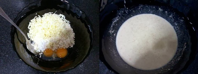 Receita de crepe integral com cogumelos hiratake