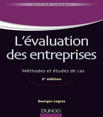 ouvrage L'evaluation des entreprises : méthodes et études de cas  PDF
