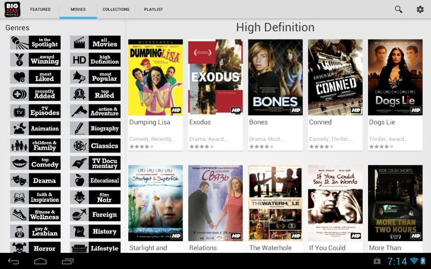 Best 17 App to watch hd movies for free on Android & IOS
