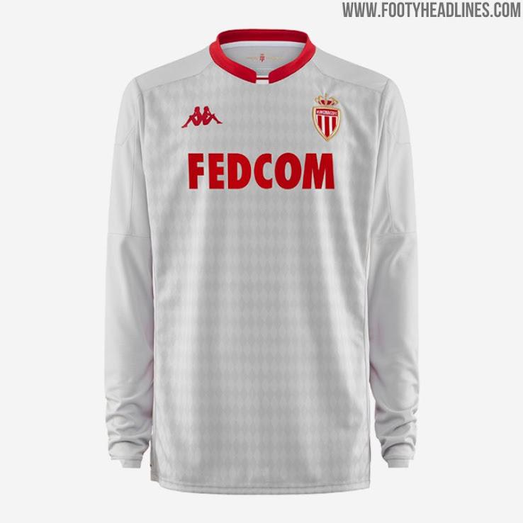Kappa AS Monaco 19-20 Home & Goalkeeper Kits Released - Footy ...