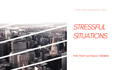 how to handle stressful situations