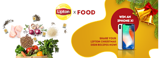 Win an IPhone X with #LiptonXFood!