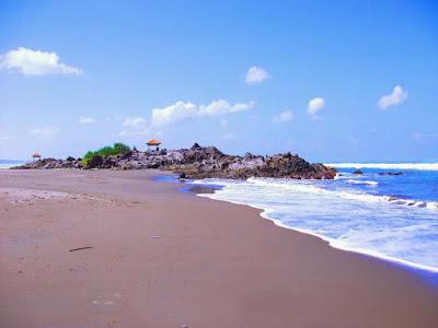 Wisata Pantai Karang Paranje Garut