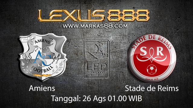 Prediksi Bola Jitu Amiens vs Stade de Reims ( French Ligue 1 )