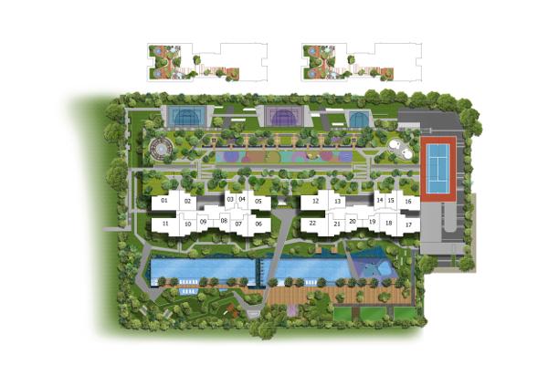 Parc Riviera Siteplan